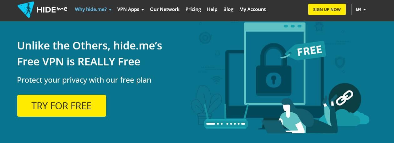 Hide.me free VPN