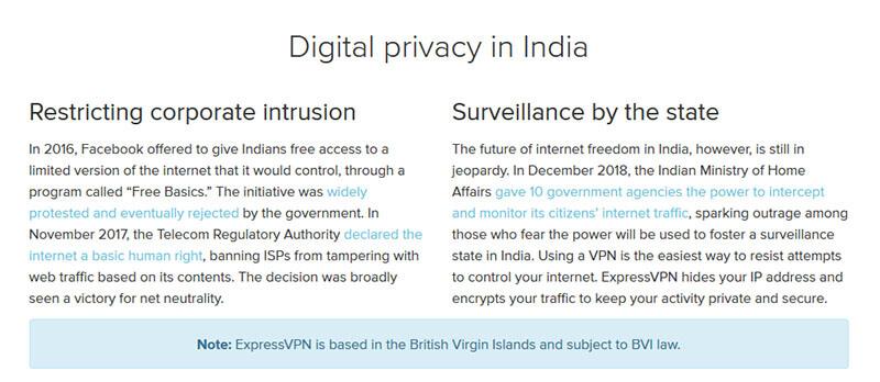 Digital Privacy in India