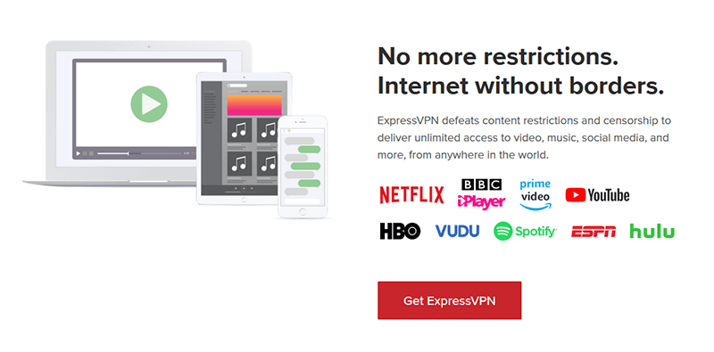 ExpressVPN geo-restriction