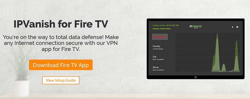 IPVanish Fire TV