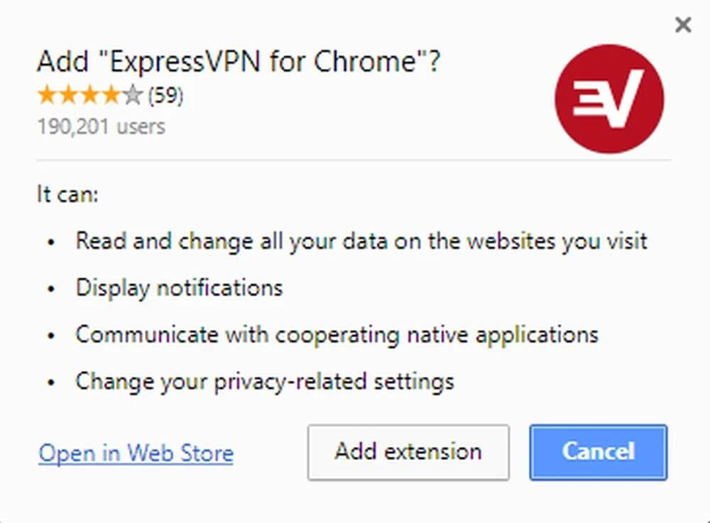 ExpressVPN Chrome