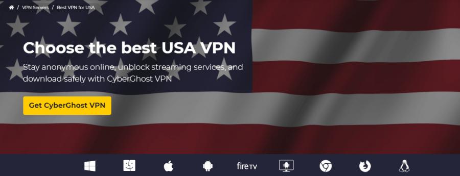CyberGhost USA