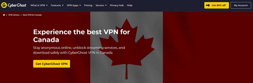 CyberGhost in Canada