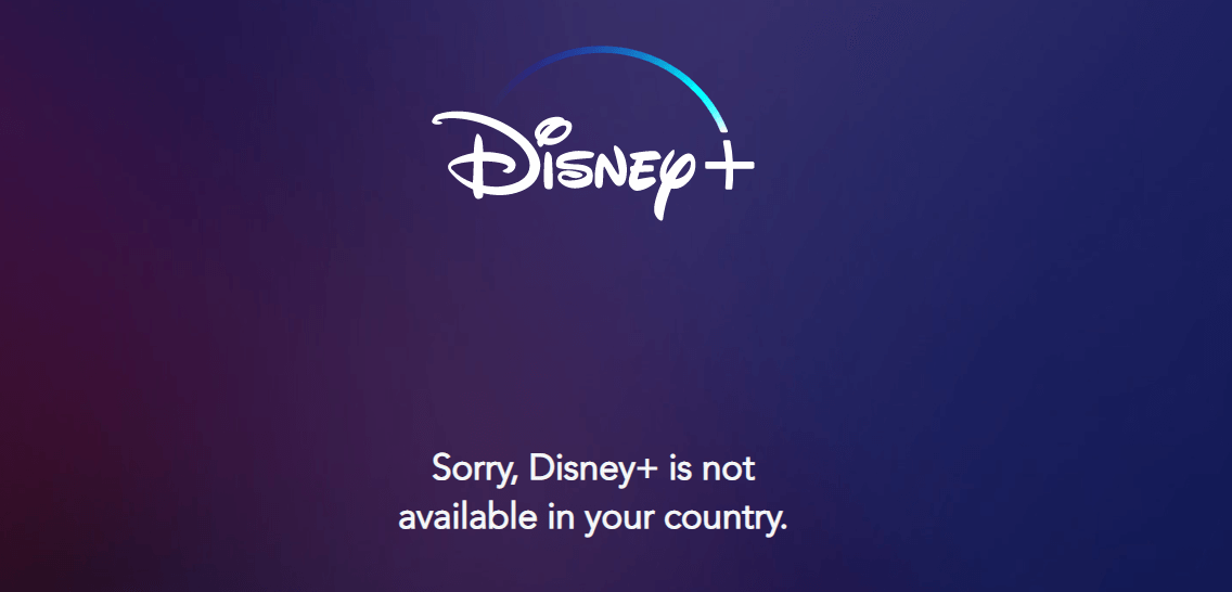 Disney+Not Available