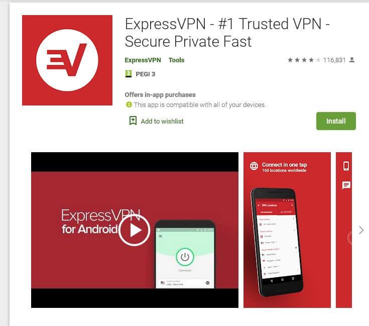 ExpressVPN Android