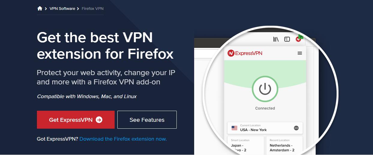 ExpressVPN Firefox