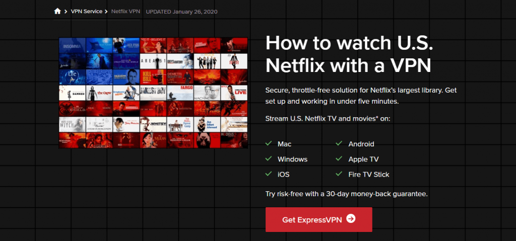 ExpressVPN Netflix
