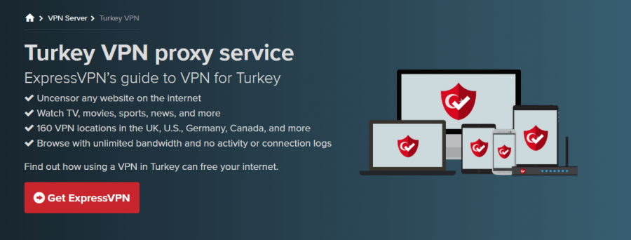ExpressVPN Turkey