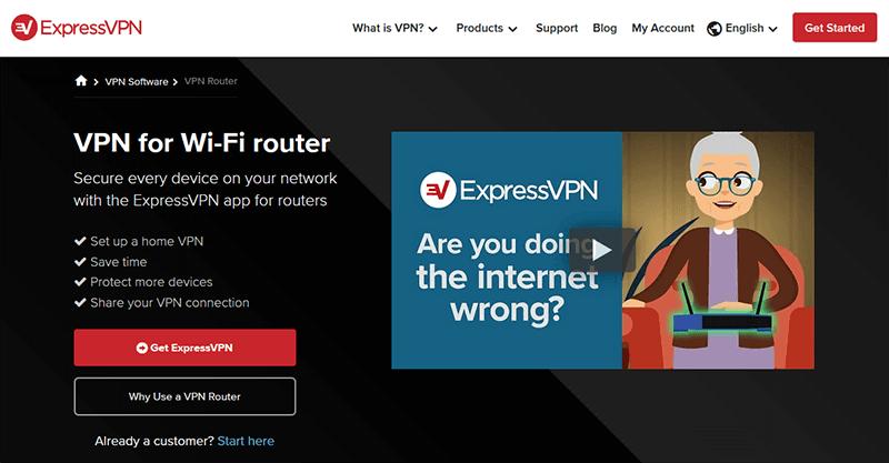 ExpressVPN on router