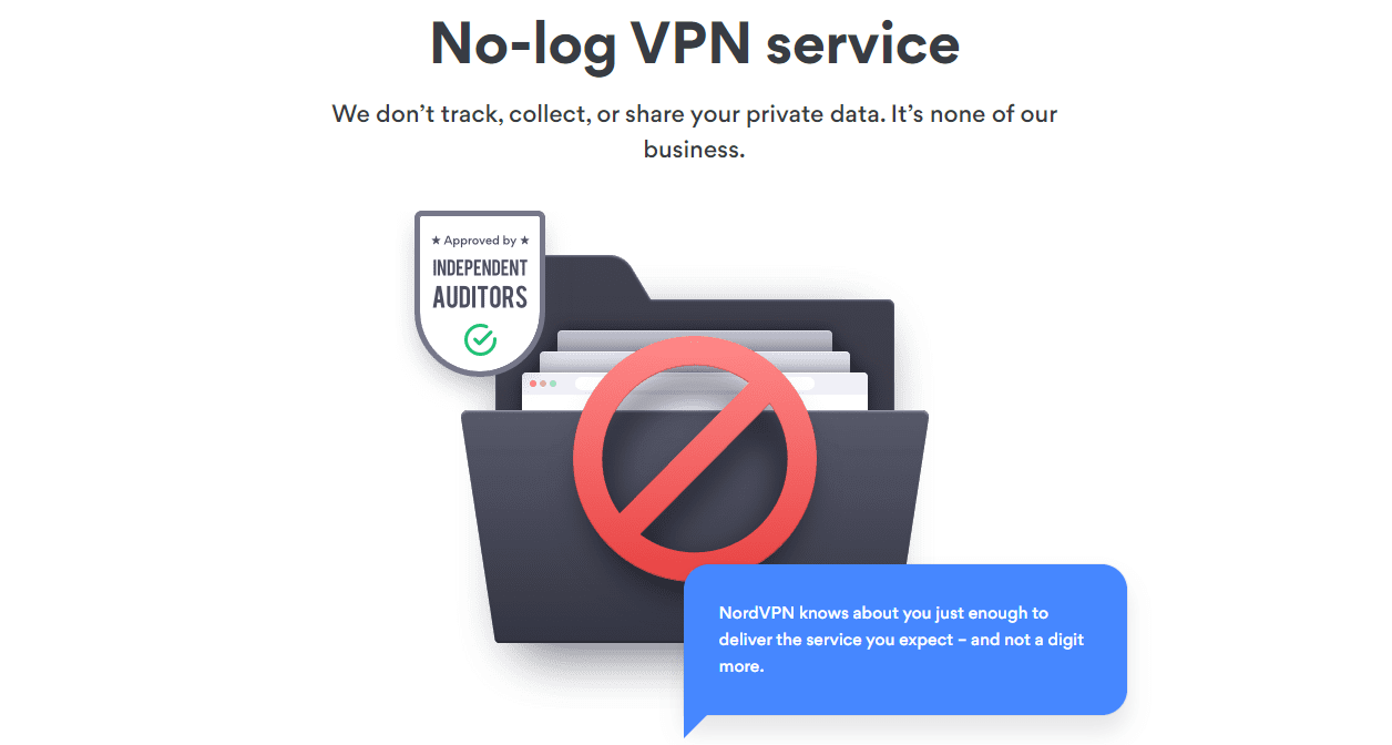 NordVPN No-Log Policy