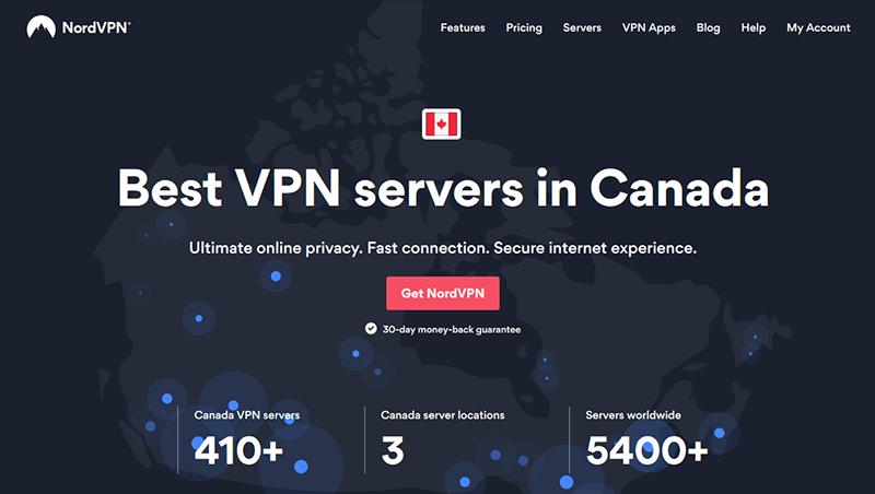 NordVPN in Canada