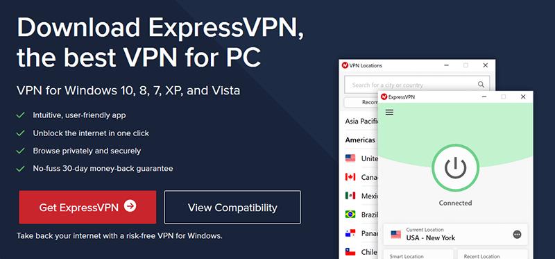 Setup of a VPN on Windows