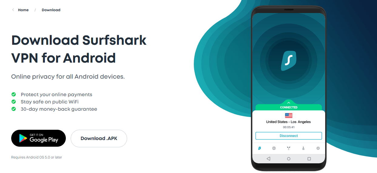 Surfshark Android