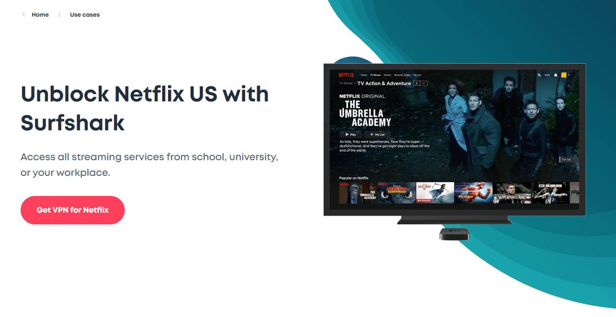 Surfshark Netflix