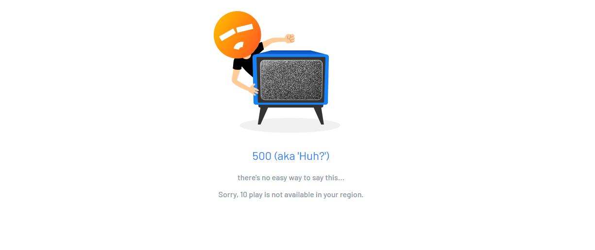 TenPlay Unavailable