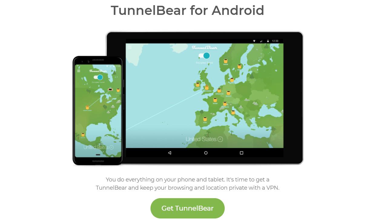TunnelBear Android