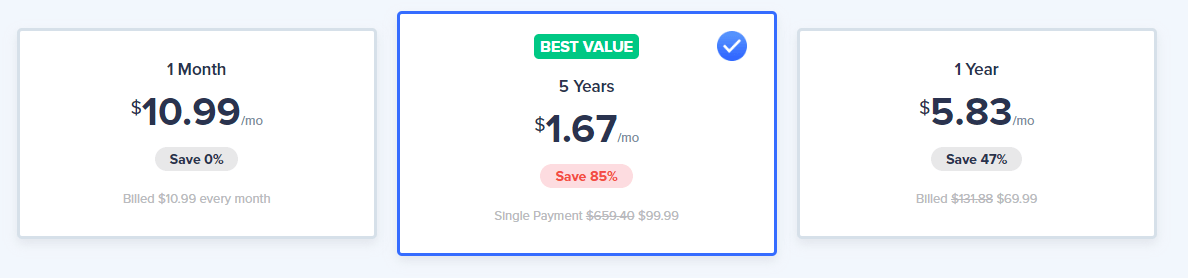 VeePN Pricing