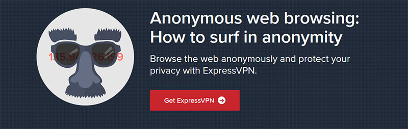 Anonymous with ExpressVPN