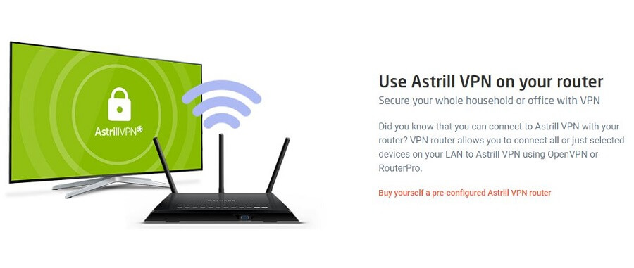 Astrill VPN Router
