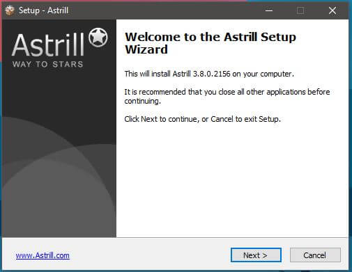 Astrill VPN Windows Setup