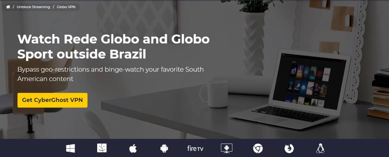 CyberGhost Brazil