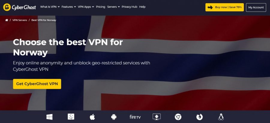 CyberGhost Norway