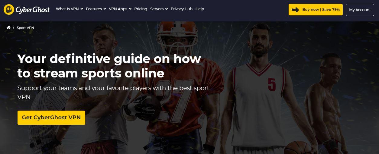 CyberGhost Sports