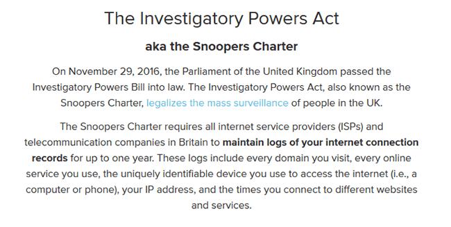 Digital Privacy in the UK