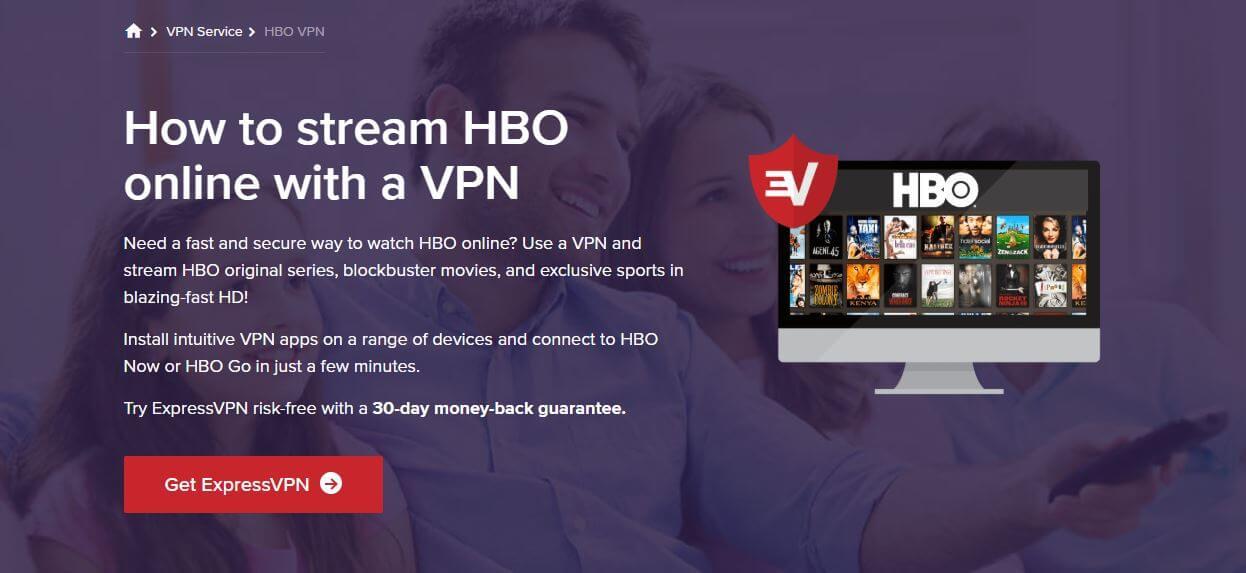 ExpressVPN HBO GO