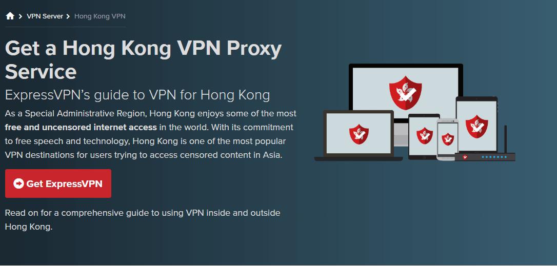 ExpressVPN Hong Kong
