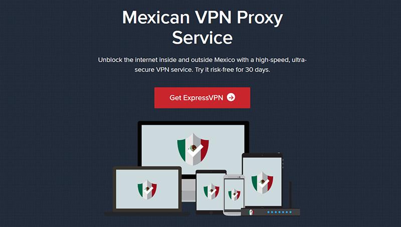 ExpressVPN Mexico