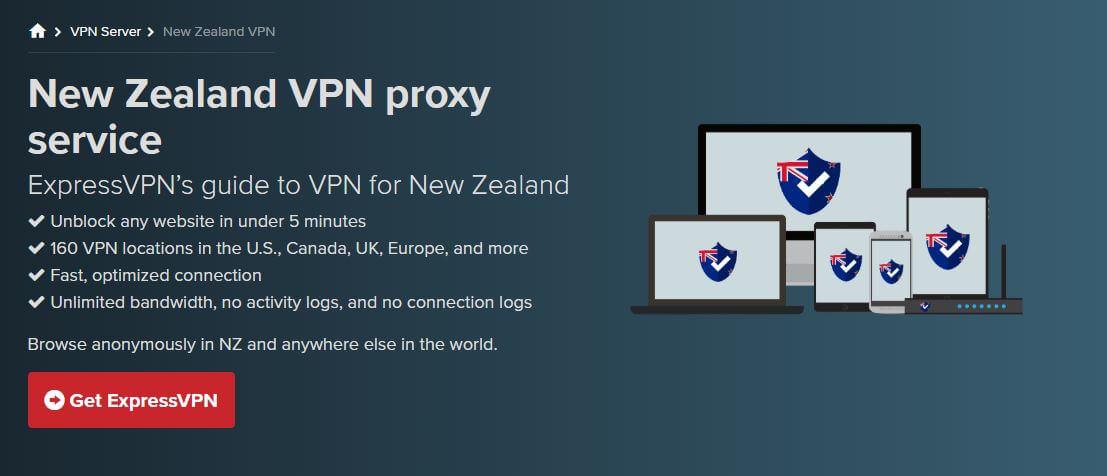 ExpressVPN New Zealand