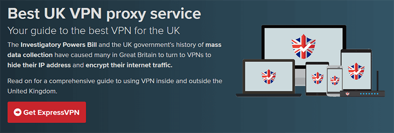 ExpressVPN for the UK