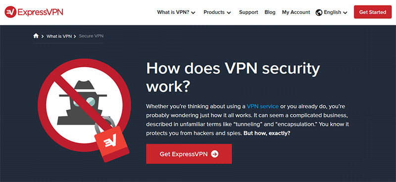 ExpressVPN safety and security
