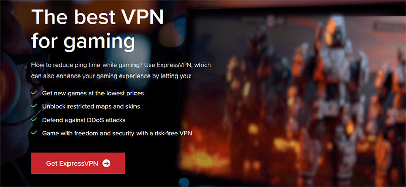Gaming with ExpressVPN