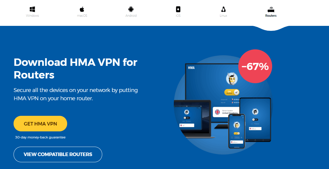 HMA Routers