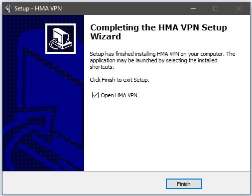 HMA Windows Setup 4
