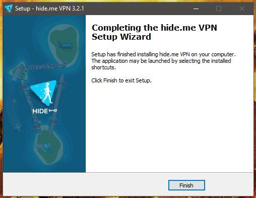 Hide.me Windows Installation 2