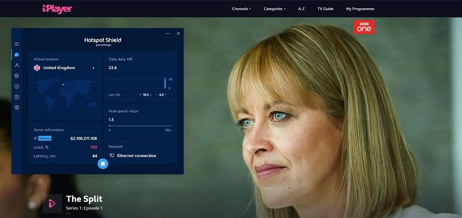 Hotspot Shield BBC iPlayer