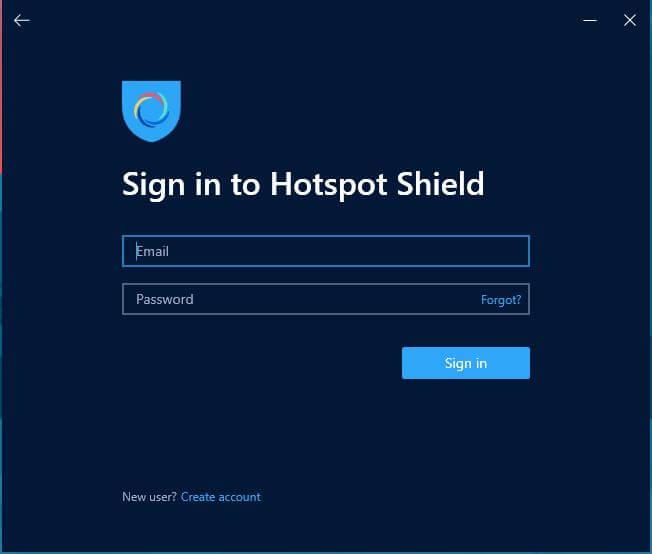 Hotspot Shield Windows App 3