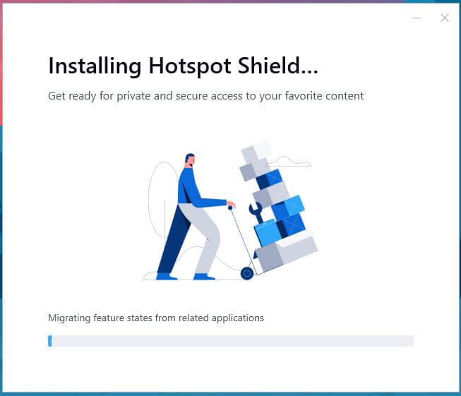 Hotspot Shield Windows Setup 2