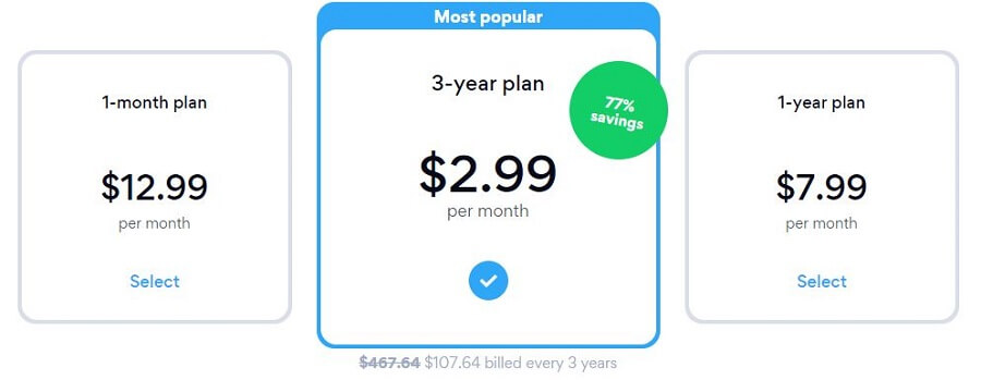 Hotspot Shield pricing