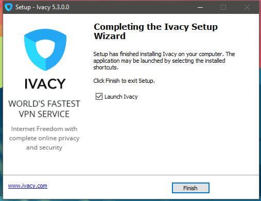 Ivacy Windows Setup 3