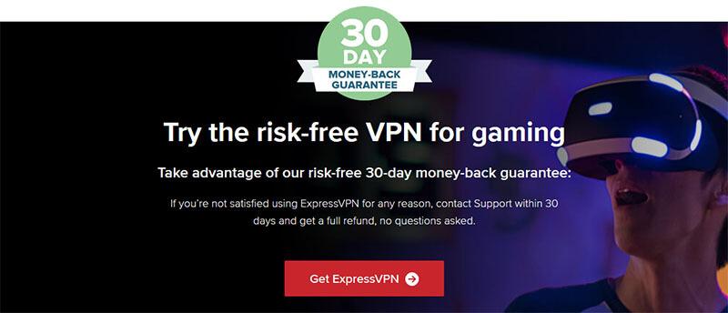 Money-back ExpressVPN GamingMoney-back ExpressVPN Gaming