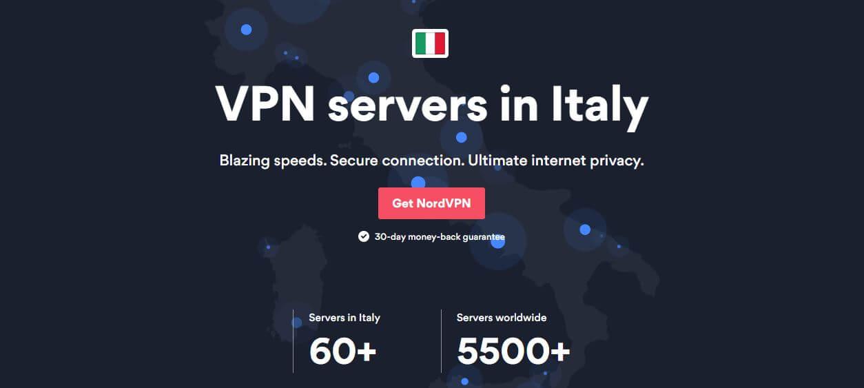 NordVPN Italy
