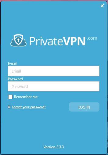 PrivateVPN Windows App