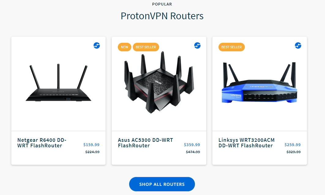 ProtonVPN Routers