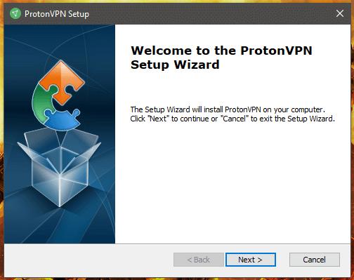 ProtonVPN Setup Windows
