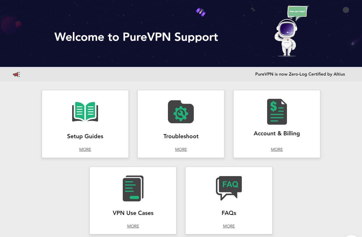 PureVPN Support Center