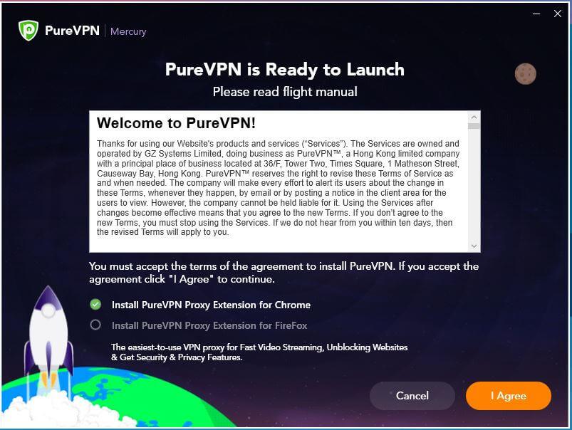 PureVPN Windows Installation 1